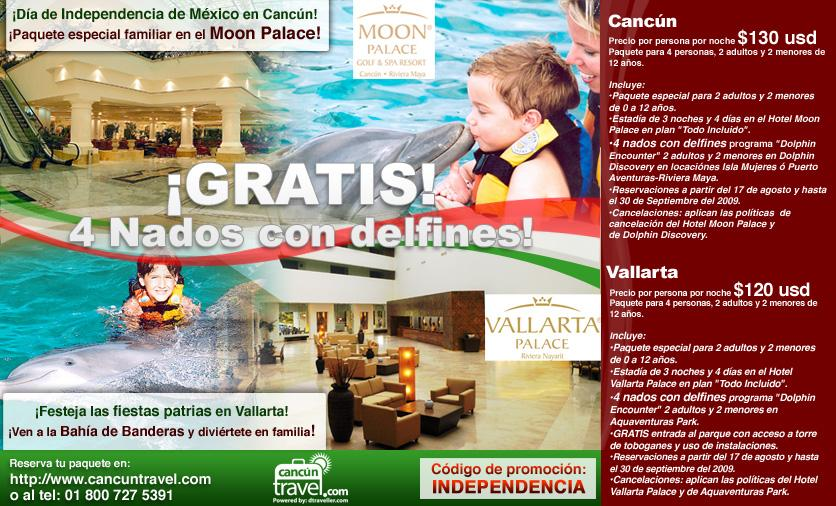viajes paquete familiar palace resorts gratis 4 nados con