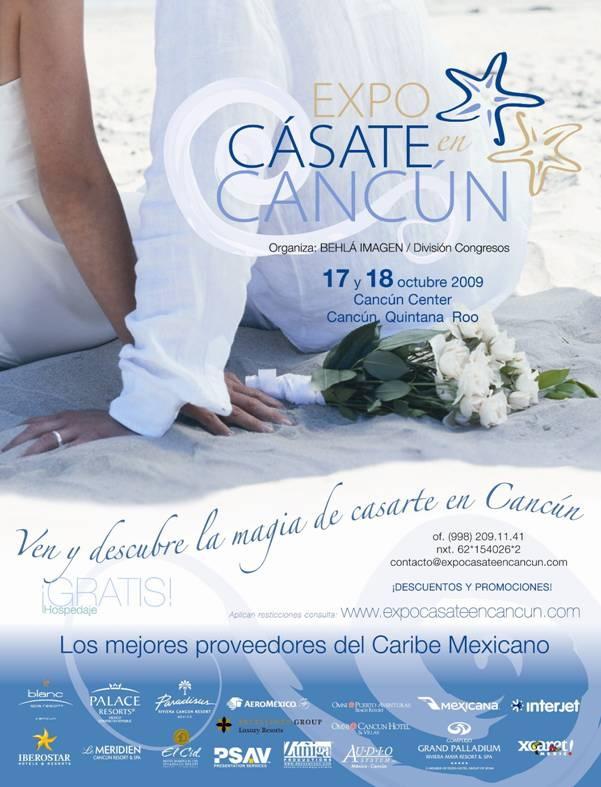 Expo casate en Cancun
